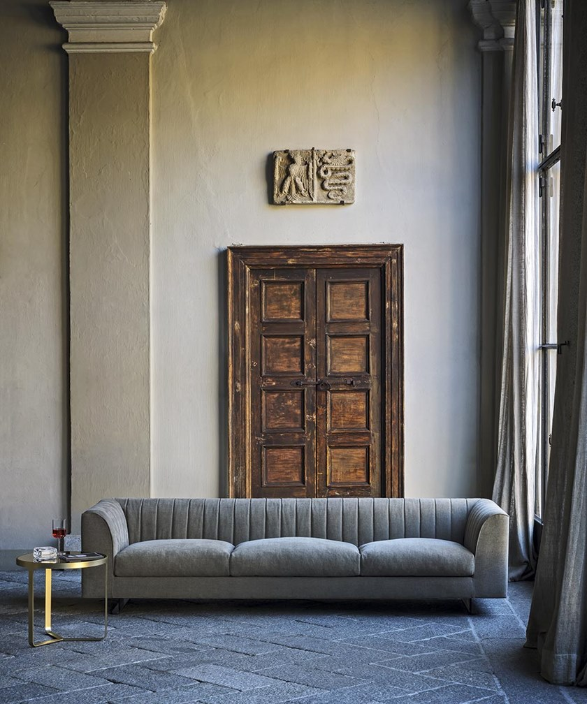 QUILT   Fabric sofa By Tacchini design PearsonLloyd