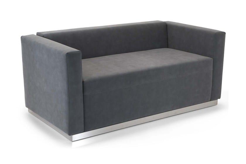 2 seater leather sofa QUINCY | Sofa by Domingo Salotti