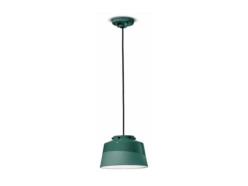 Lampada a sospensione in ceramica QUINDIM C2000 by FERROLUCE