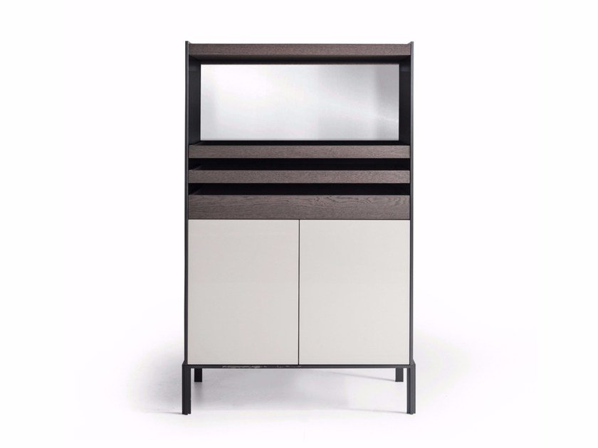 Lacquered highboard QUINTEN | Highboard by Molteni