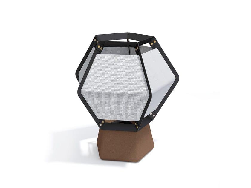 LED cork floor lamp QUINTUS | Floor lamp by Lonc