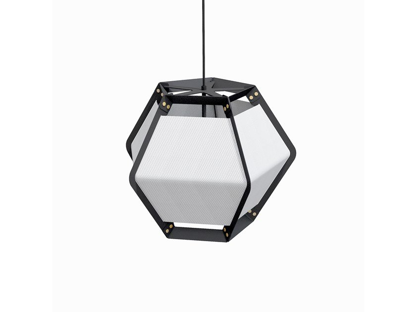 LED direct light powder coated steel pendant lamp QUINTUS | Pendant lamp by Lonc
