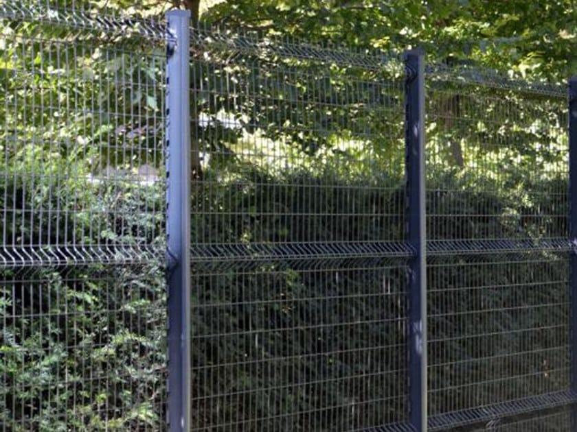 Modular steel Fence QUIXOLID® PLUS by BETAFENCE ITALIA