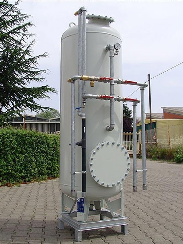 Sistema di filtrazione quarzo - carbone