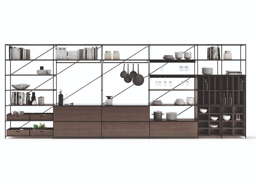 Kitchen modular system R.I.G. MODULES KITCHEN by MA/U STUDIO
