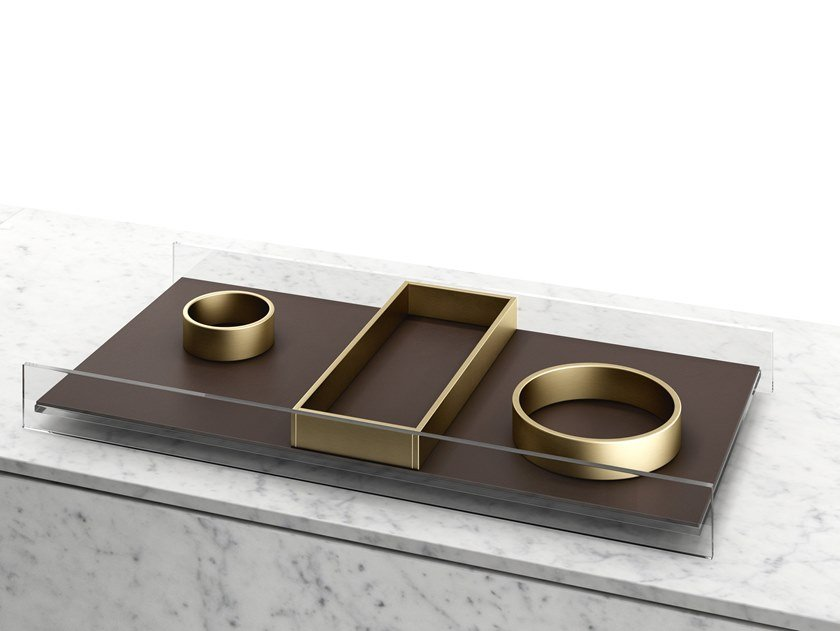 Aluminium pin tray R.I.G. MODULES | Pin tray by MA/U STUDIO