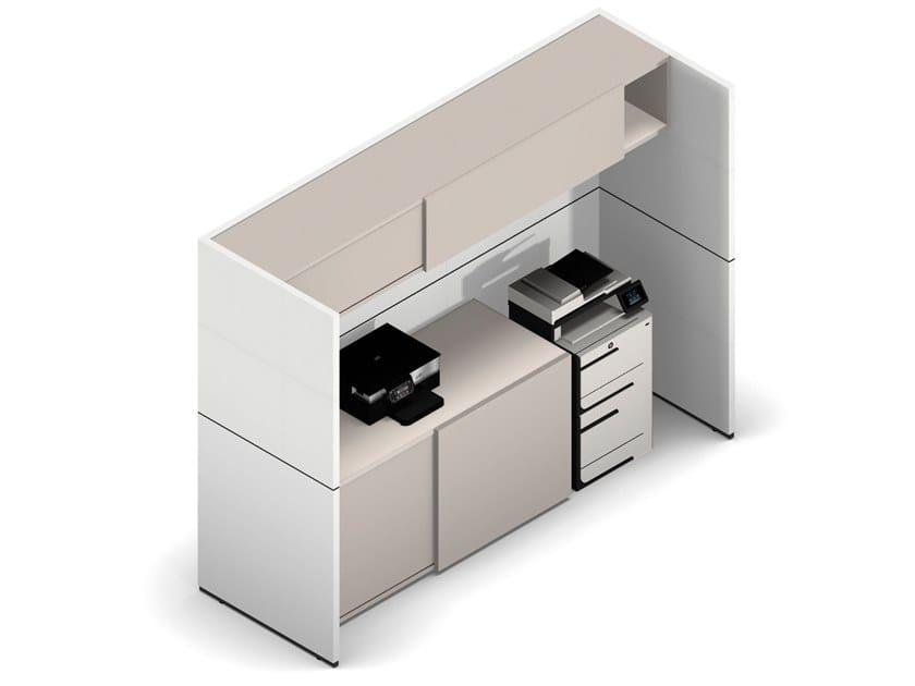 Modular office storage unit R-MODUL | Modular office storage unit by werner works