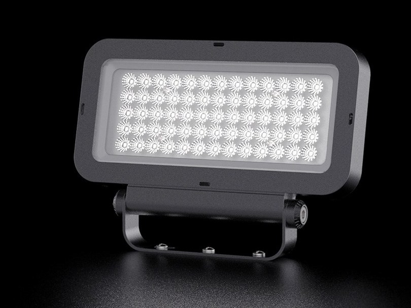 LED die cast aluminium Outdoor floodlight R/R1 | Outdoor floodlight by LANZINI