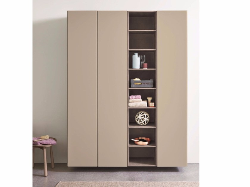 Sectional floorstanding modular bathroom cabinet R1 | Floorstanding bathroom cabinet by Rexa Design