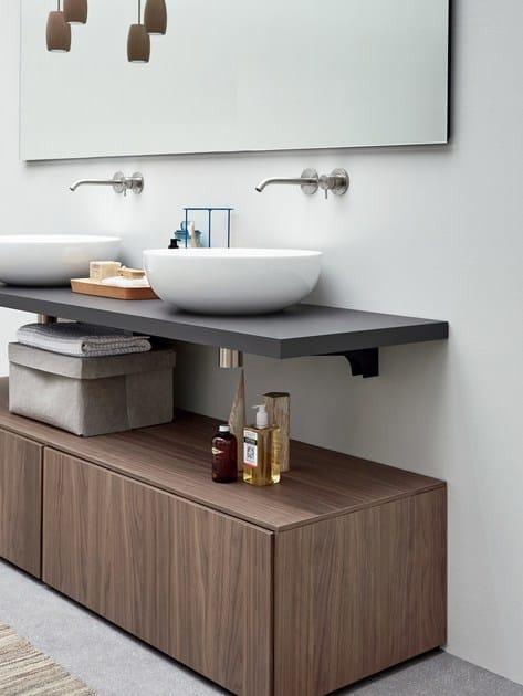 R1 | Walnut vanity unit By Rexa Design design Monica Graffeo Walnut Vanity Units For Bathroom on walnut vanity top, walnut dresser, walnut windows, vintage walnut vanity, walnut room, walnut countertops, walnut sinks, euro vanity, walnut entertainment center, walnut chest, walnut bedroom, walnut fireplace, mahogany vanity,
