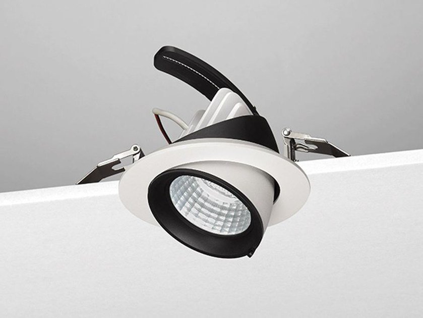 LED adjustable aluminium spotlight R19 by NOBILE ITALIA
