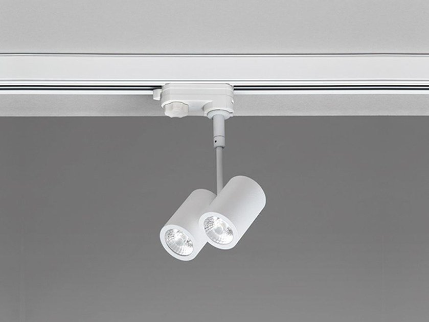 Illuminazione a binario a LED in alluminio R27 by NOBILE ITALIA