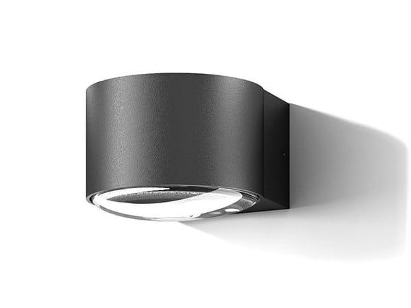 Applique per esterno a LED a luce diretta e indiretta in alluminio in stile moderno R2901 by Ucome
