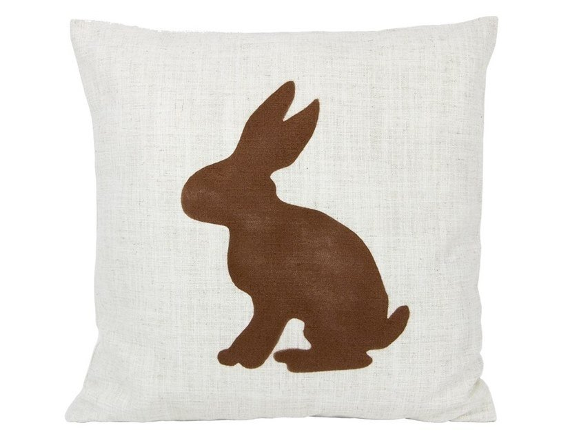 Polyester cushion RABBIT | Cushion by Gie El Home