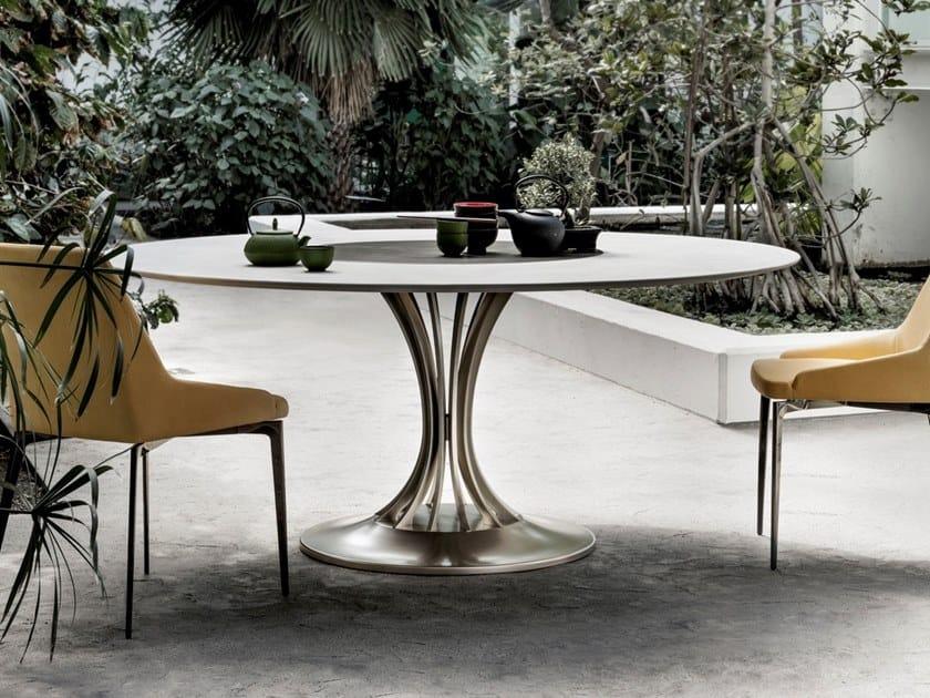 Round wooden table RADAR XL by ALIVAR