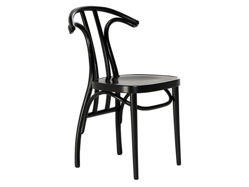 Beech chair RADETZKY by Wiener GTV Design