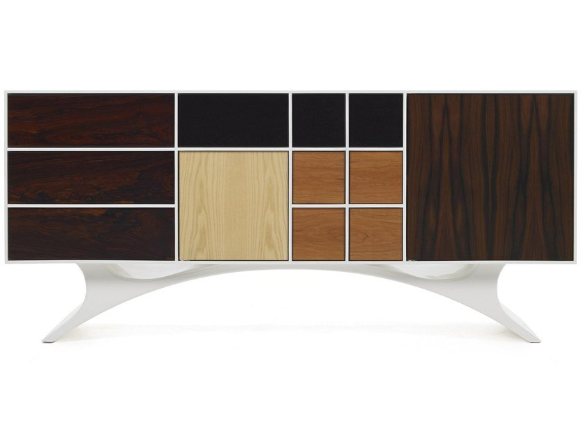 Wooden sideboard with drawers RADIEUX by Malabar