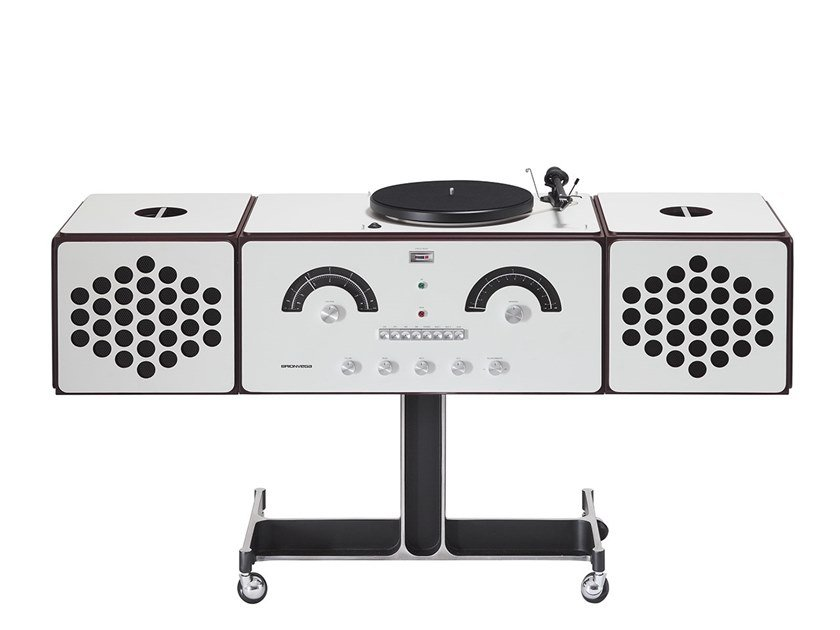 Wooden Radio RADIOFONOGRAFO RR226-O fo-st by Brionvega