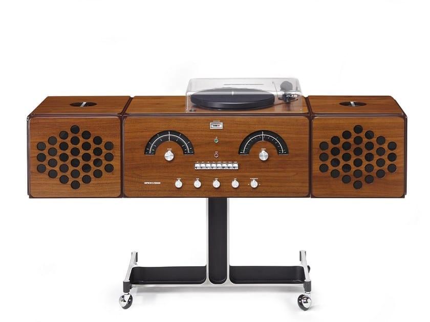 Walnut Radio RADIOFONOGRAFO RR226-O Noce Canaletto by Brionvega