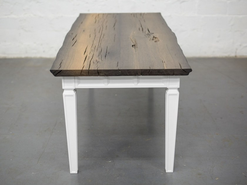 Rectangular bog oak dining table RAFAEL by EDWOOD