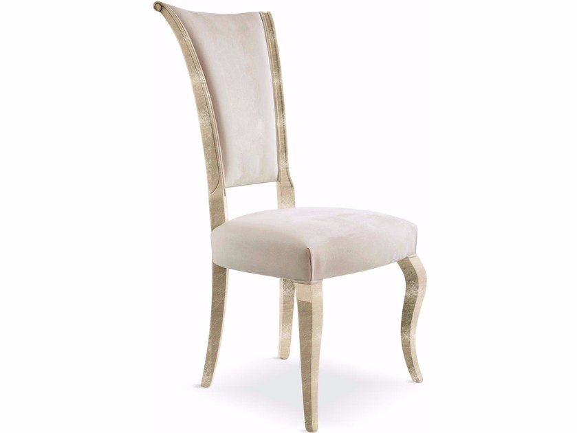 Upholstered high-back chair RAFFAELLO | Chair by Cantori