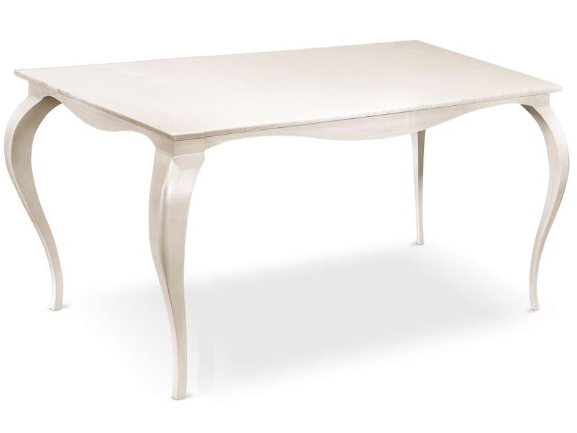 Square wooden table RAFFAELLO | Square table by Cantori