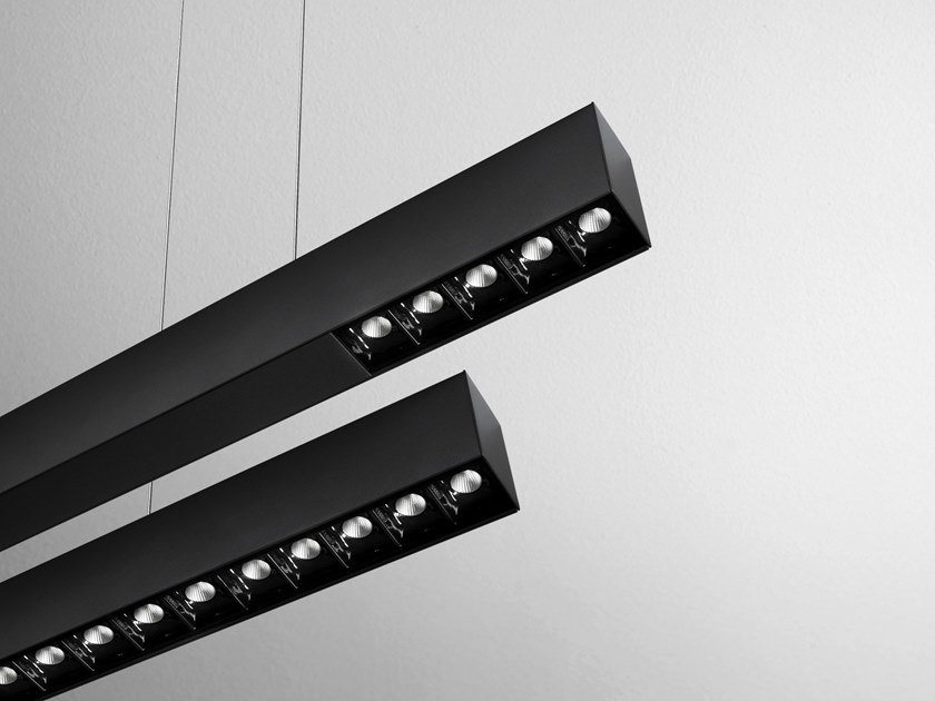LED direct light pendant lamp RAFTER by AQForm