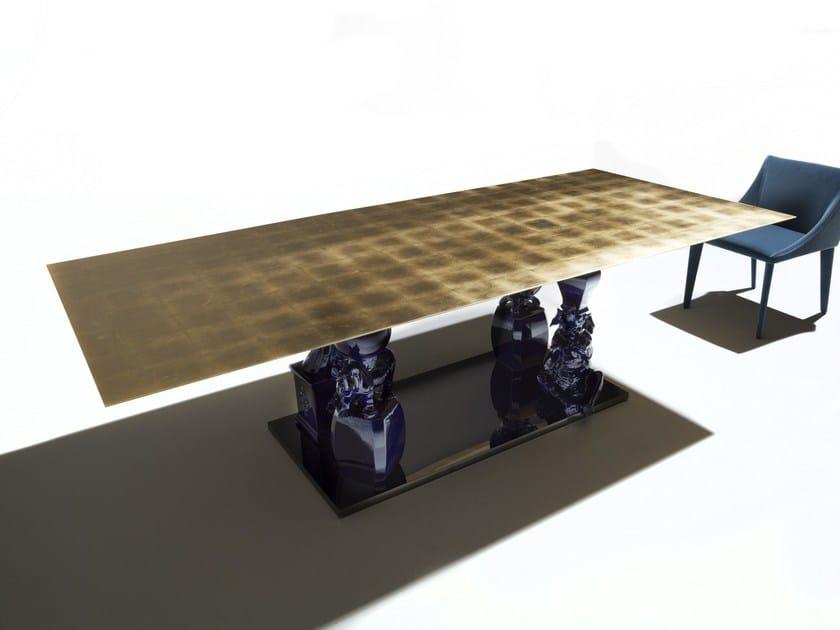 Mesa de jantar retangular RAGION PURA by ERBA ITALIA