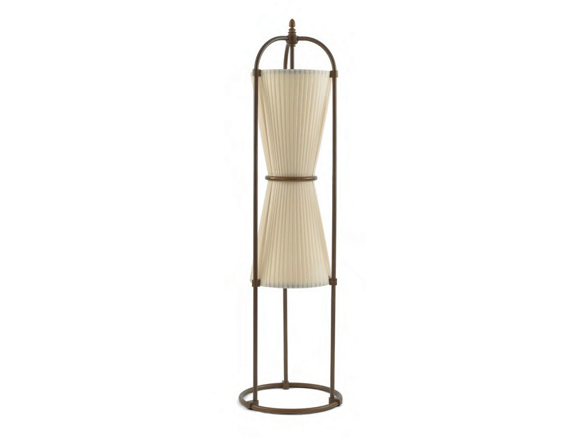 Indirect light fabric floor lamp RAIATEA by Aldo Bernardi