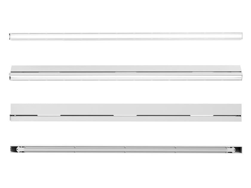 Elemento illuminante lineare LED con altoparlanti RAIL by K-Scape