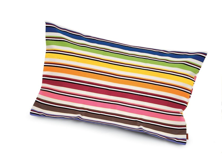 Striped rectangular cushion RAINBOW | Rectangular cushion by MissoniHome