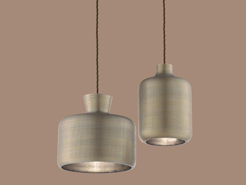 Glass pendant lamp RAINBOW by Euroluce Lampadari