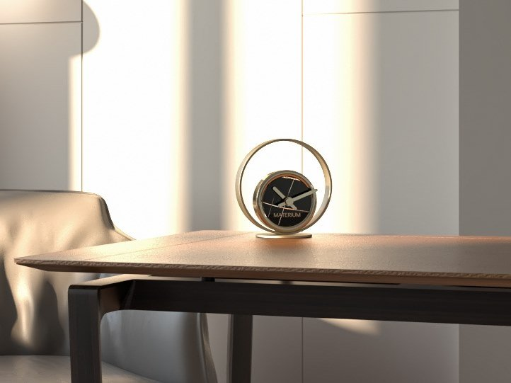 Table-top clock RAINBOW By Materium