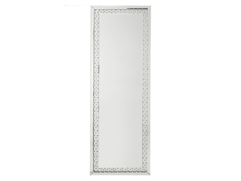 Rectangular wall-mounted framed mirror RAINDROPS by KARE-DESIGN