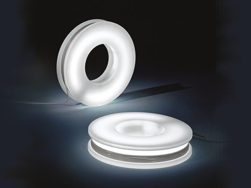 LED polyethylene Floor lamp RAINY DAY   Floor lamp by Pallucco
