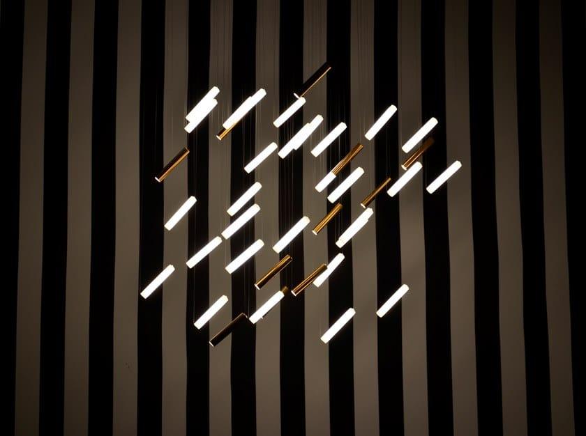 Lampadario a LED in porcellana con dimmer RAINY DAY   Lampada a sospensione by Beau & Bien