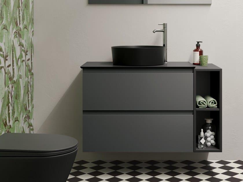 Mobile lavabo sospeso con cassetti RAK-JOY   Mobile lavabo by RAK Ceramics