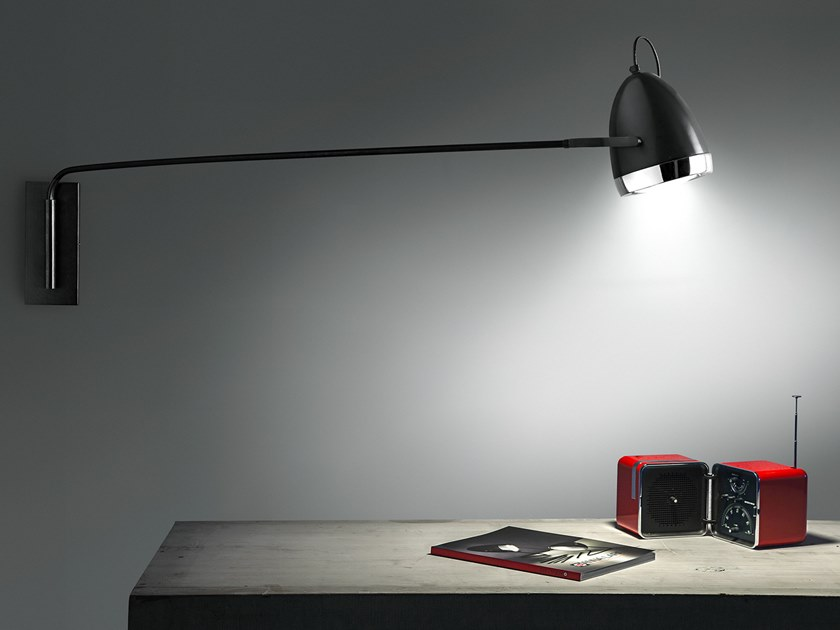 Adjustable wall lamp RALLY 137CM | Wall lamp by ANNA LARI