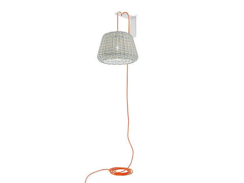 Direct light rattan wall lamp RALPH | Wall lamp by PANZERI