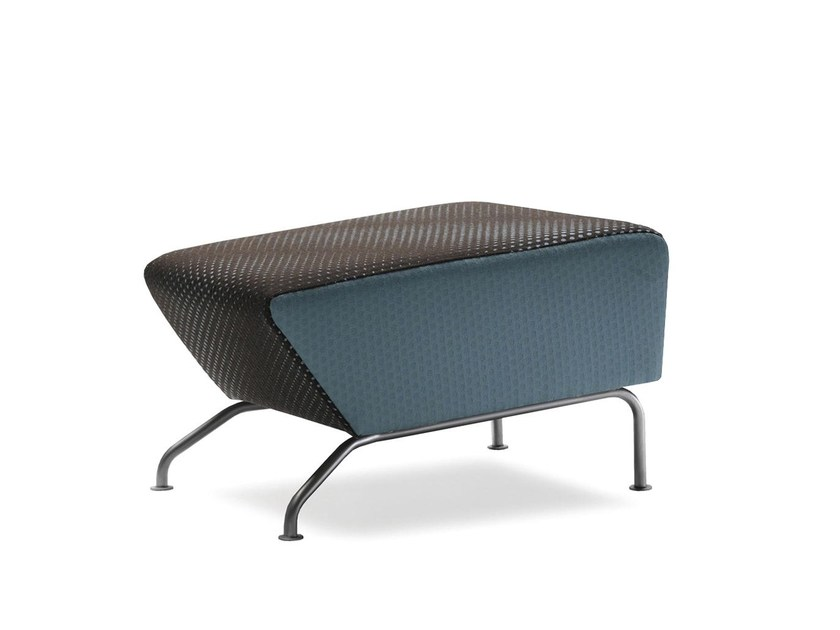 Fabric footstool RAM   Footstool by Stouby