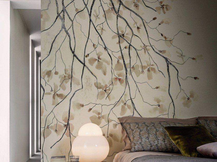 Wallpaper RAMAGE By Wall&decò design Antonella Guidi