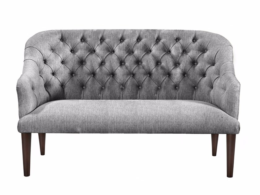 Tufted 2 seater fabric sofa RAMBO | Sofa by AZEA
