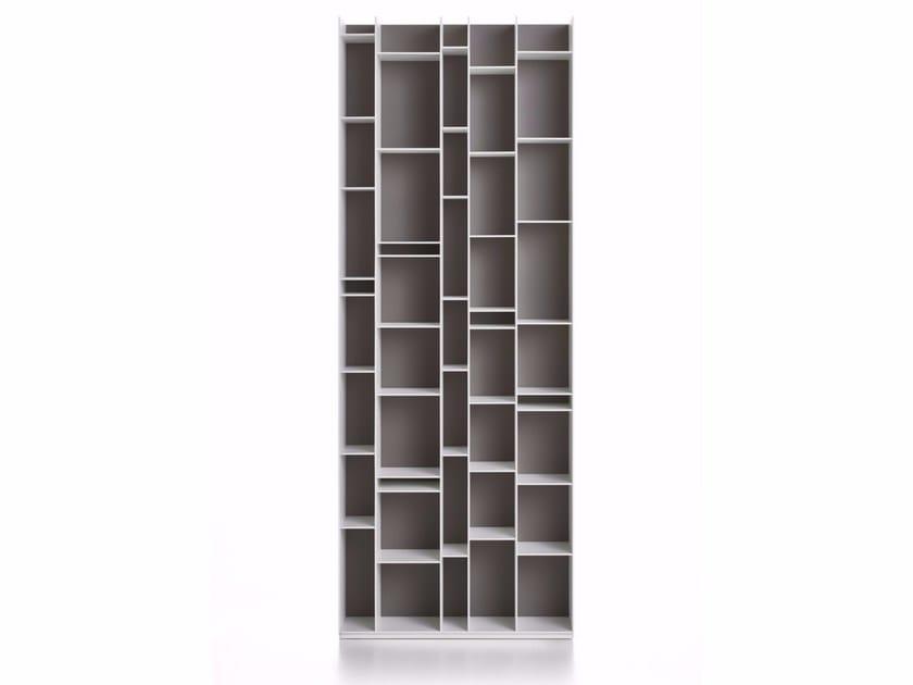 Modular wood fibre bookcase RANDOM 2017 by MDF Italia