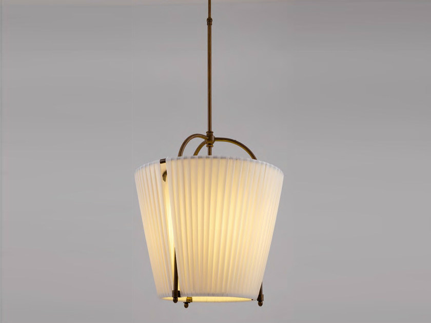 Indirect light fabric pendant lamp RANGIROA by Aldo Bernardi