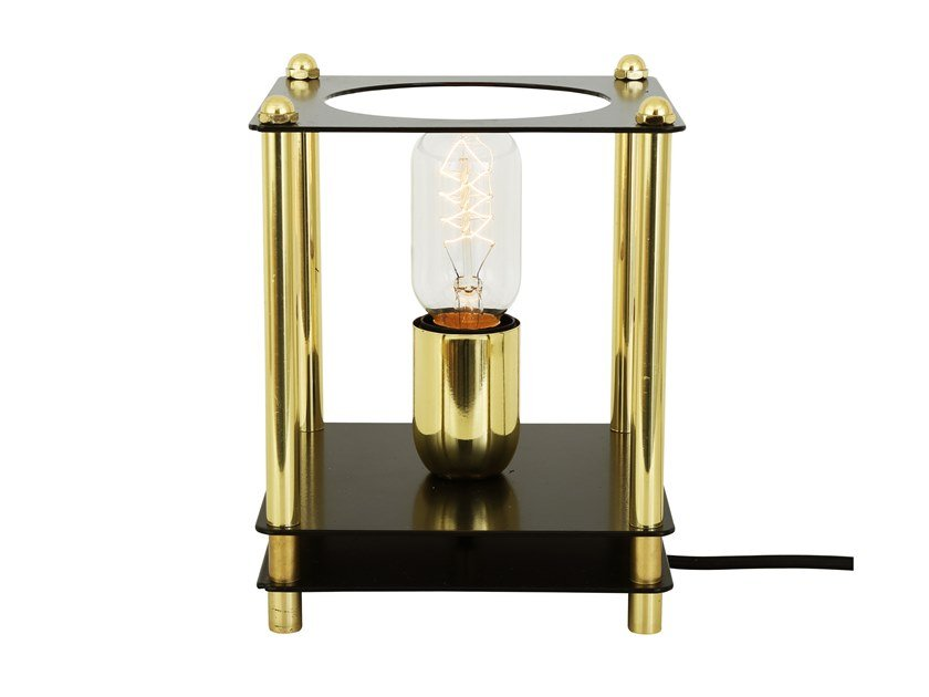 Brass table lamp RANUA by Mullan Lighting
