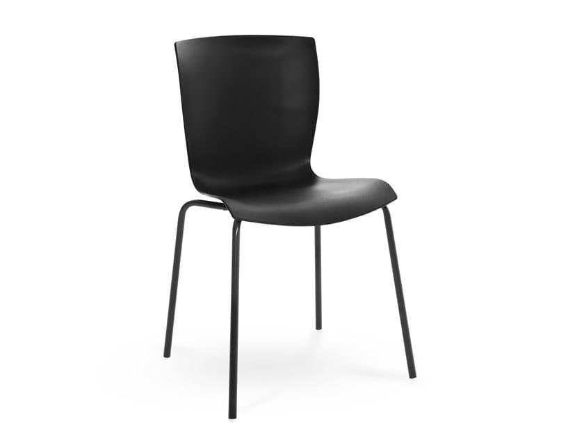 Sedia in polipropilene RAP by Colico