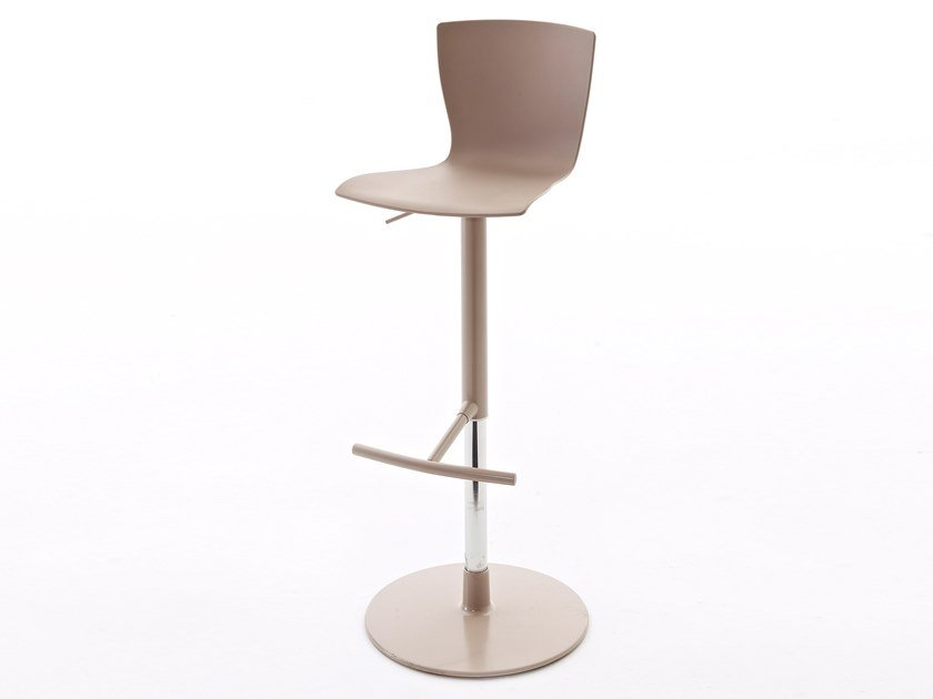 Swivel height-adjustable stool RAP.SS by Colico