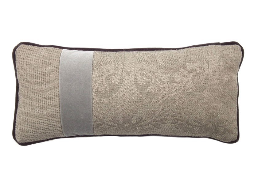 Rectangular fabric cushion RARE 362-10 by l'Opificio