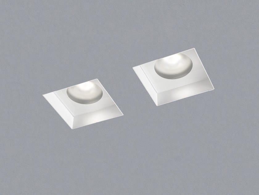 Faretto a LED quadrato in metallo da incasso RASO by AiLati