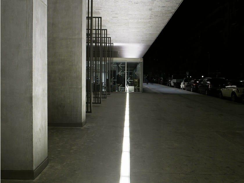 Floor Linear lighting profile RASO IP67 by FontanaArte